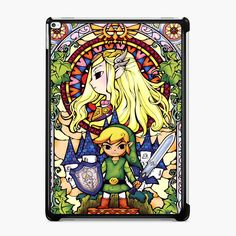 Buy The Legend of Zelda Stained Glass iPad Case #iphonecase #iphone6case #phonecases