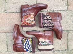 Vintage Moroccan boots