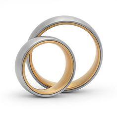 Die Fertigung von individuellen Trauringen aus Silber gehört in