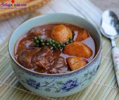Bắp bò hầm tiêu xanh với thịt bò mềm tơi, thấm đẫm hương vị, khoai tây bở, chút…