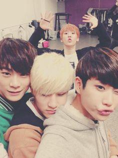ASTRO - Moonbin, JinJin, MJ and Sanah <3