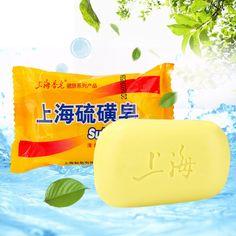 85g Sulphur Soap Skin Care Dermatitis Fungus Eczema Anti Bacteria Fungus Shower Bath Whitening Soaps Sswell Bath & Shower