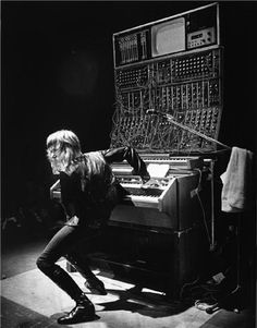 """You didn't see Keith Emerson live because he was kitschy. Keith Emerson was a star: ambitious and mad, classically handsome, unafraid to wear tight clothes that glimmered from a distance."" Slate's David Weigel on Keith Emerson."