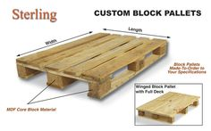 how to build euro style pallets - Google Search