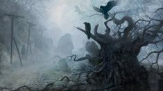 Fantasy wallpapers, desktop backgrounds hd, pictures and images Scary Wallpaper, Widescreen Wallpaper, Tree Wallpaper, Desktop Wallpapers, Dark Landscape, Dark And Twisty, Creepy Pictures, Very Scary, Halloween Backgrounds