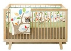 Owl baby bedding is so cute and a great theme for a neutral nursery or a boy or girl. Choose from a variety of owl crib bedding sets and owl nursery...