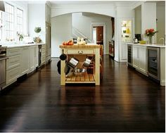 love the bamboo floors. All the benefits of hard wood but far more eco-friendly