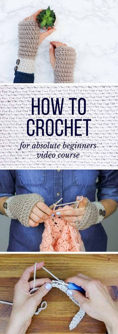 If you've ever wanted to learn how to crochet, even if you've never picked up a…