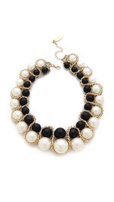 Adia Kibur Double Row Ball Necklace