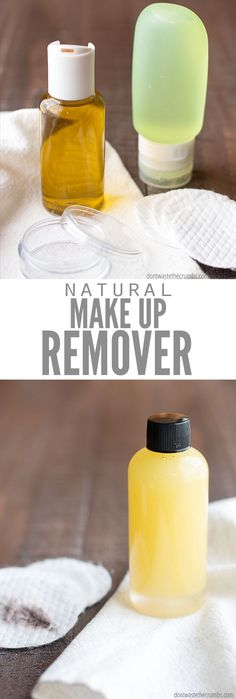 Natural Makeup Remover - Make the Best DIY Natural Makeup . - Natural Makeup Remover – Make the best DIY natural make-up remover with just one ingredient! Diy Makeup Remover Wipes, Best Makeup Remover, Diy Natural Makeup Remover, Homemade Makeup Remover, Make Up Geek, Make Up Dupes, Makeup Tricks, Makeup Videos, Skin Care