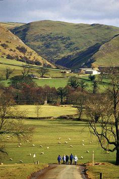 Ilam, Peak District, England