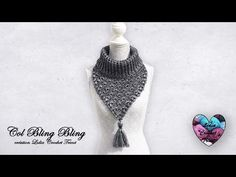 - YouTube Lidia Crochet Tricot, Col Crochet, Bling Bling, Couture, Bonnets, Blog, Fashion, Shawl, Tights