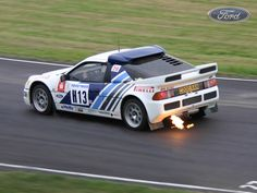 Ford RS200. 444 HP. 361 lb-ft. 2,315 lbs. One Ford that I would not mind driving.