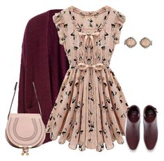 """""""outfit 4927"""" by natalyag ❤ liked on Polyvore featuring American Vintage, Chloé and Vintage"""