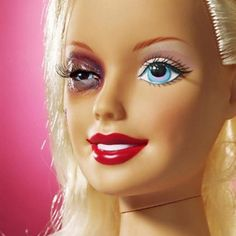 Barbie who did this to you?