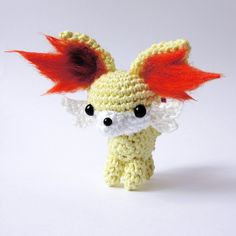 So here is the Fennekin pattern I promised. Please tell me, if you like it and if you understand it well. Every critism is welcome and helps me to improve my work Thanks to who helped me with the c...