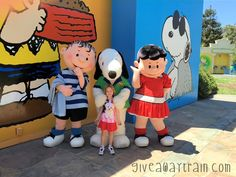 #GreatAmerica -- Kira had a blast at Planet Snoopy #Review