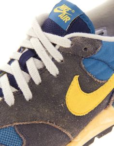 2f6f81591d98 Nike Air Epic Vintage Trainers in Blue for Men