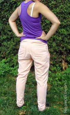 Spodnie nie-piżamowe, pants, sew