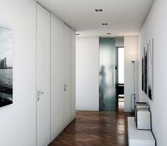 Hinged flush-fitting door FILOMURO | Hinged door by GAROFOLI