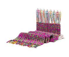 This easy weaving loom ($30).