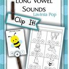 Long Vowel Sounds Clip It!  This unit contains 20 cards; 4 cards for each vowel. The aim of this activity is for children to correctly identify the...