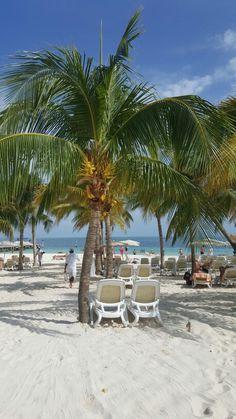 Beach view Riu Palace Peninsula Cancun