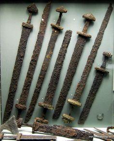 Viking swords found in Kilmainham, Dublin