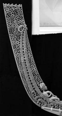 Abstract Sculpture, Bronze Sculpture, Sculpture Art, Metal Sculptures, Simple Wood Carving, Maori Symbols, Maori Patterns, Long White Cloud, Polynesian Art