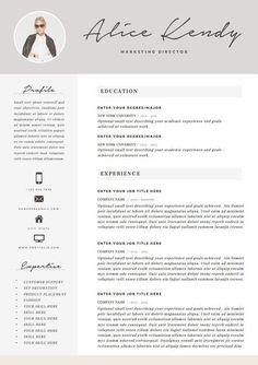 cv and resume templates Resume Template 4 page Word DIY Printable CV par TheResumeBoutique . Cover Letter Template, Cv Template, Letter Templates, Resume Templates, Word Cv, Cv Original, Cv Curriculum Vitae, Free Resume Examples, Resume Ideas