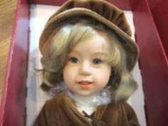 Klara from The Gotz Doll Collection by Sissel Skille with Her Steiff Teddy   eBay