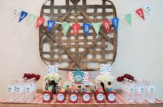 Entertaining Made Easy Trains Birthday Party, Birthday Party Decorations, Party Themes, Birthday Parties, Ham And Swiss Sliders, Of Mice And Men, Spring Is Here, White Decor, More Fun