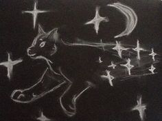 New contest! Draw your favorite character in starclan! Ps. You don't have to do it in chalk, I just thought it was cool.