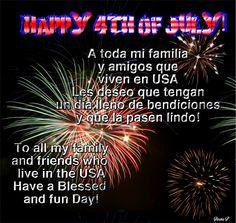 Happy 4th of July /// Feliz 4 de Julio!