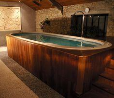 Spa de nage mosaique Prélude 430 | CLAIR AZUR