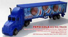 Pepsi Toy Trucks   ... home advertising beverage pepsi cola toy vehicle toy vehicles toys