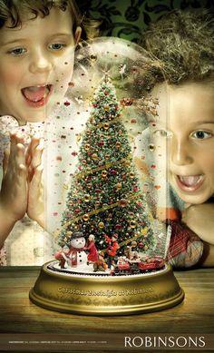 A nostalgia Christmas campaign for Robinsons | Gorgeous Design