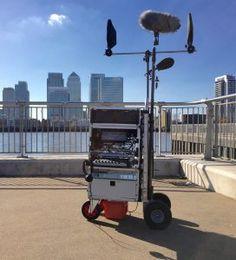Production Sound Mixer Sound Cart.