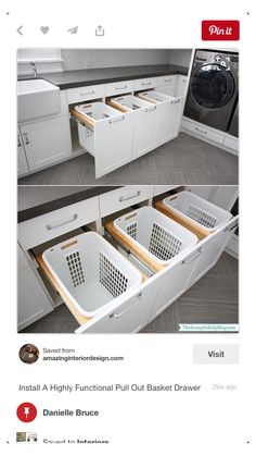Best Bath Room Layout With Laundry Decor 23 Ideas Laundry Room Shelves, Laundry Room Layouts, Laundry Decor, Laundry Room Design, The Design Files, Küchen Design, Scullery Ideas, Wall Shoe Storage, Room Layout Design