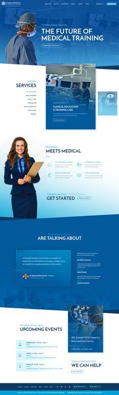 Fh nicholson center homepage full design
