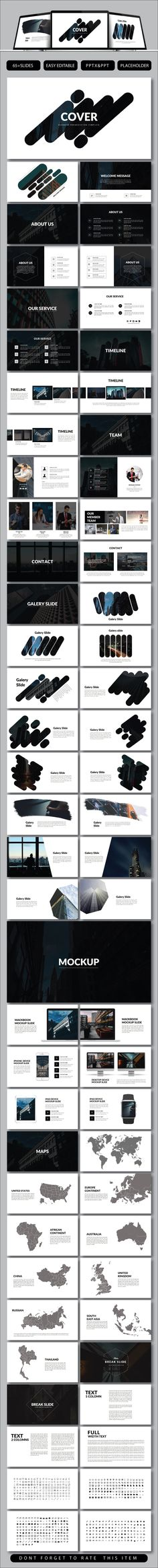 Cover Business Presentation - PowerPoint Templates Presentation Templates