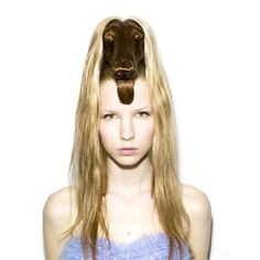 This bizarre creation with hair, is the japanese art director Nagi Noda, has died.