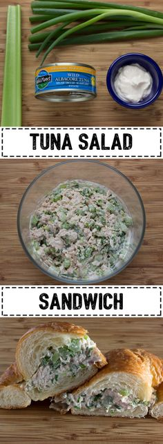 Classic Tuna Salad Sandwich that's perfect for healthy lunch idea!