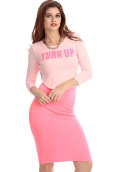 bc35123ac9ffcb CICI HOT: Light Pink Turn Up Asymmetrical Crop Top Buy Now $17.99 Find at  Faearch