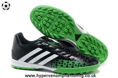 Authentic TRX TF Adidas Predator LZ (Black/White/Grass Green)