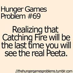 hunger game problems | Hunger Games Hunger Games Problems Catching Fire Peeta Mellark