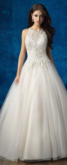 Wedding Dress by Allure Bridals Fall 2016