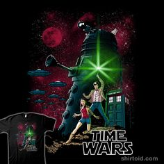 Time Wars #‎DoctorWho‬ ‪#‎StarWars
