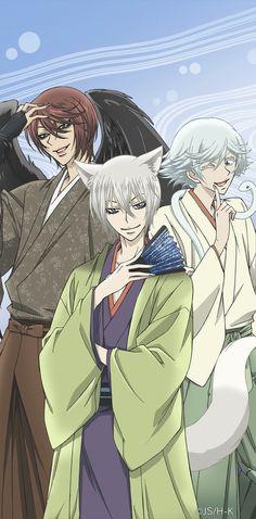 Kurama , Tomoe , Mizuki