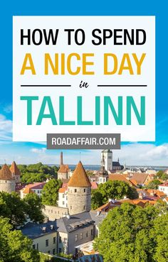 1 Day in Tallinn: The Perfect Tallinn Itinerary babies flight hotel restaurant destinations ideas tips Best Places To Travel, Cool Places To Visit, Amazing Destinations, Travel Destinations, City Break Holidays, Estonia Travel, Travel Guides, Travel Tips, 1 Day